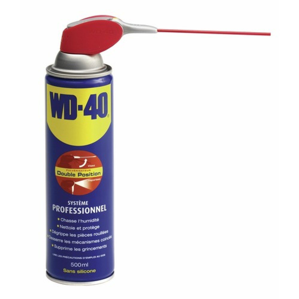 WD40 Spray Double Position -500ML