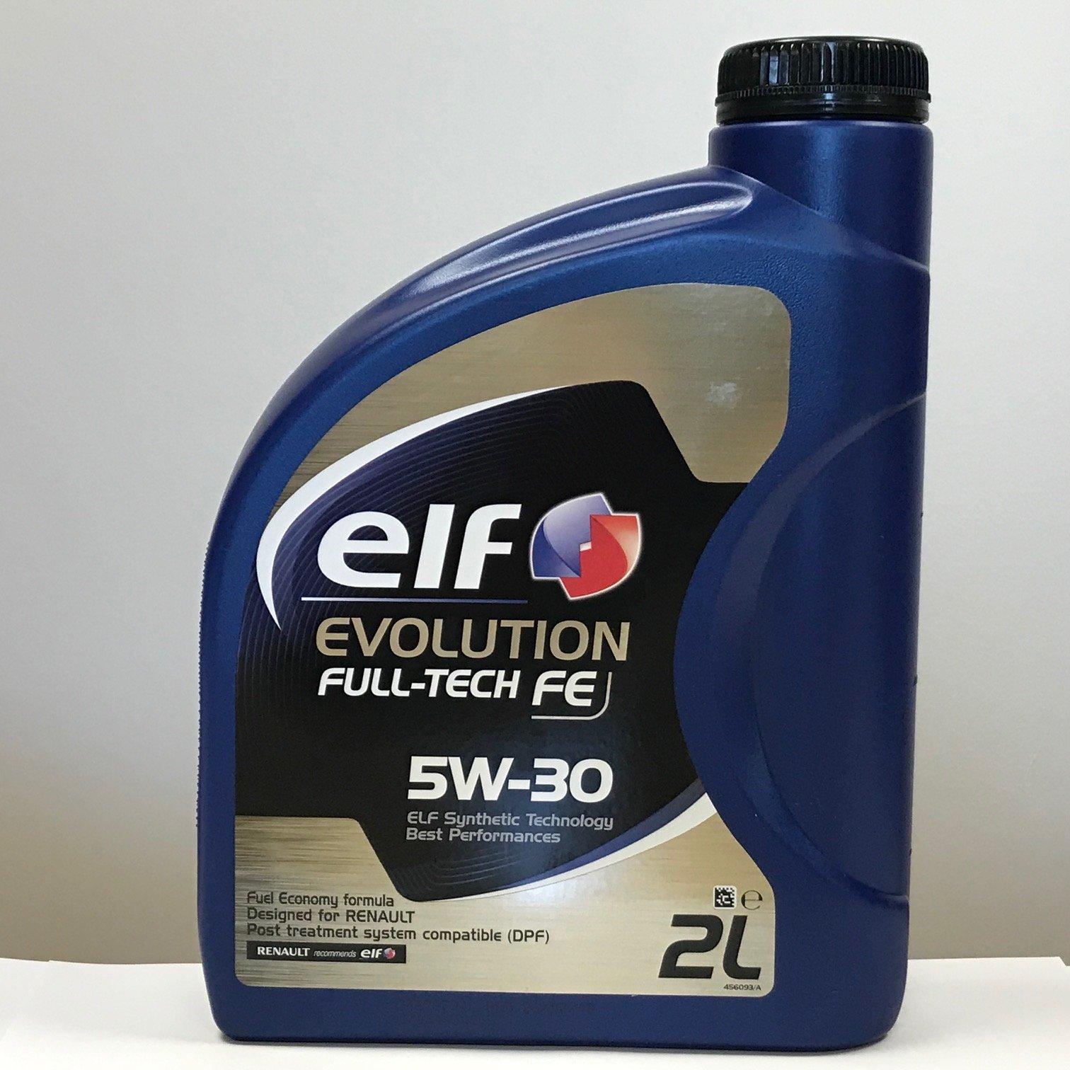 HUILE EVOL FULLTECH FE 5W-30 5L