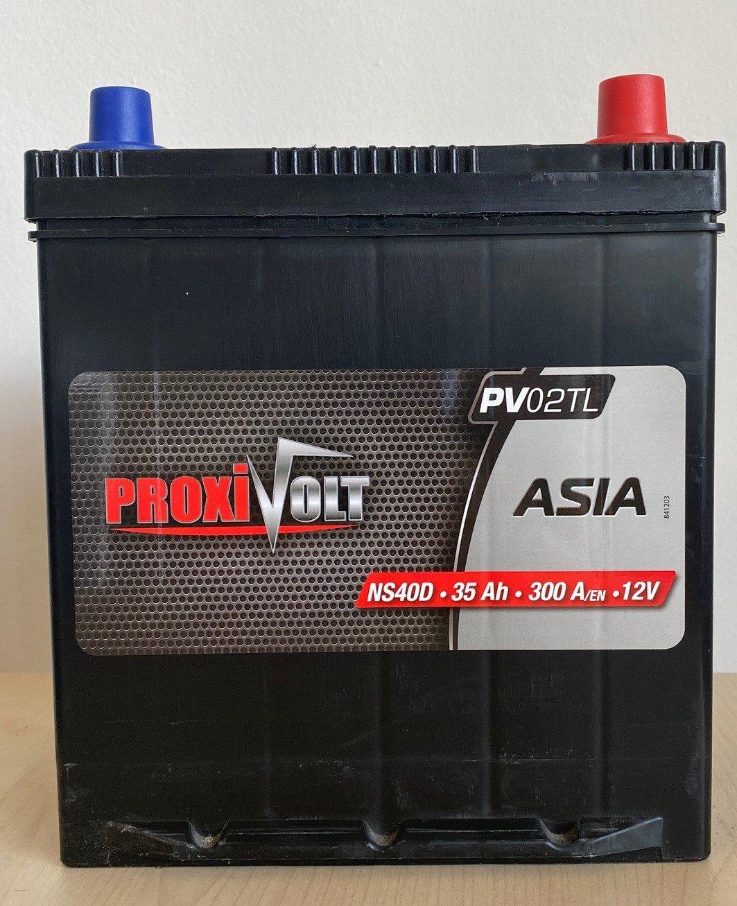 BATTERIE PROXIVOLT ASIA 35AH 300AEN +D