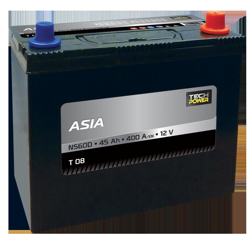 BATTERIE PROXIVOLT ASIA 45AH 400AEN +D