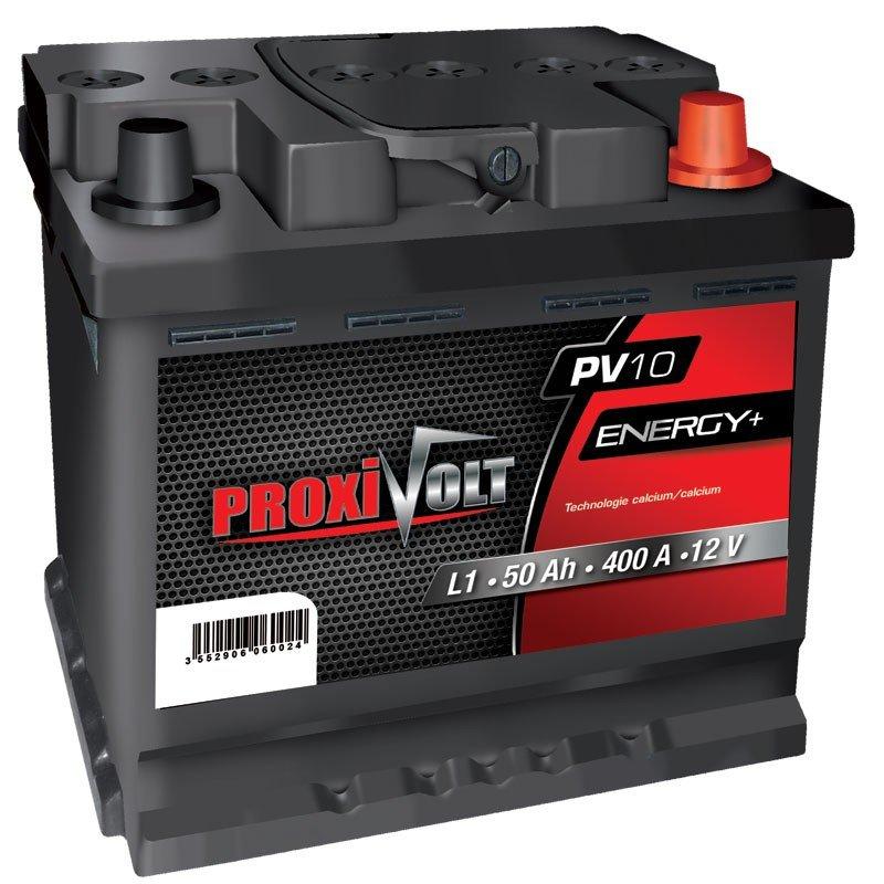 BATTERIE PROXIVOLT ENERGY + 50AH 420AEN +D
