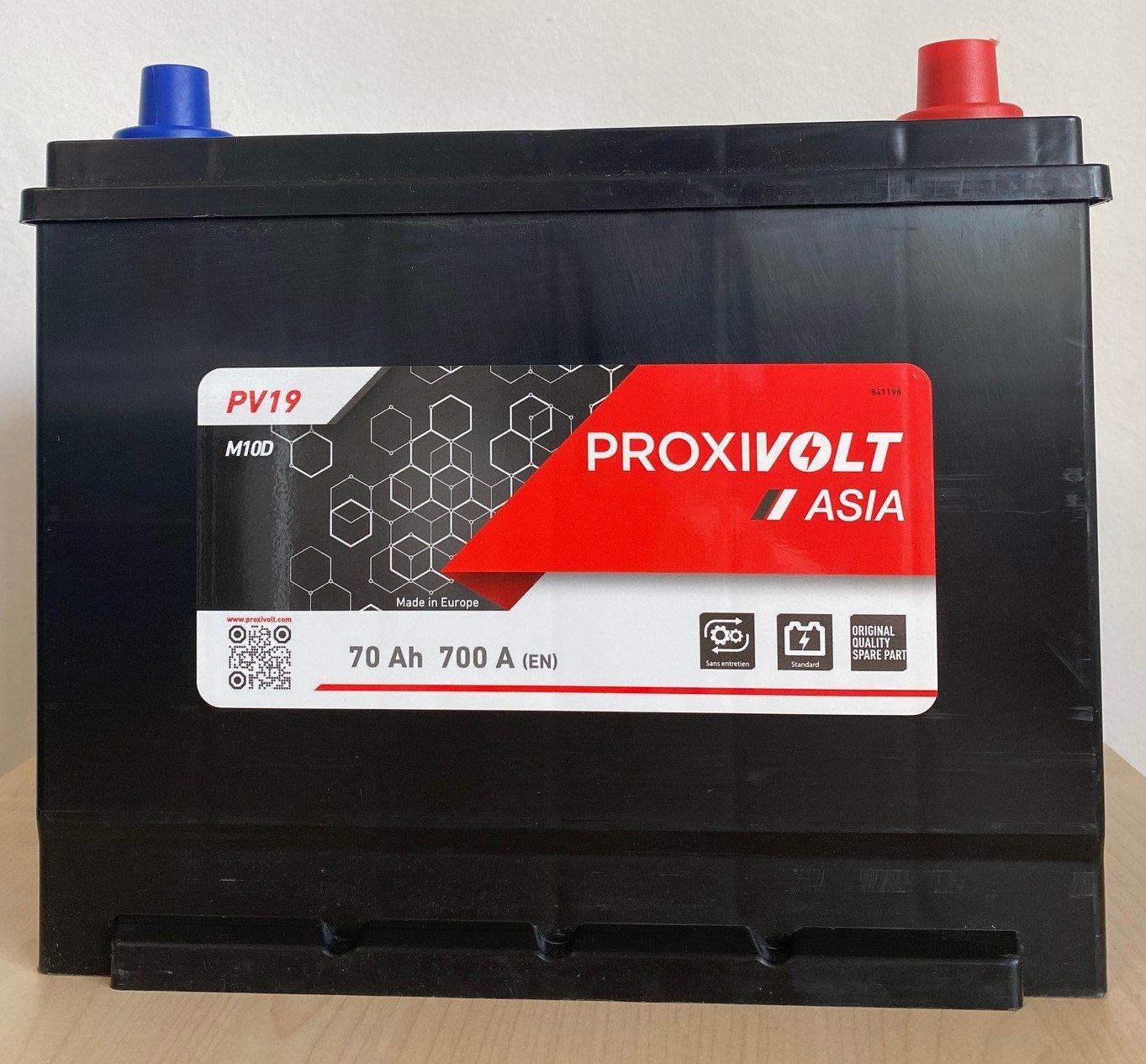 BATTERIE PROXIVOLT ASIA 70AH 700AEN +D