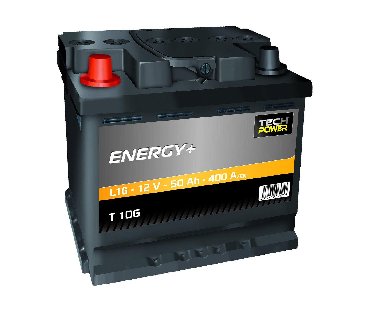BATTERIE PROXIVOLT ENERGY + 50AH 400AEN +G