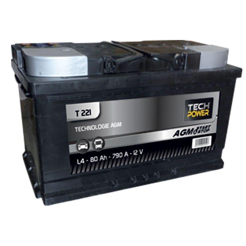 BATTERIE PROXIVOLT AGM S&S 80AH 800AEN +D