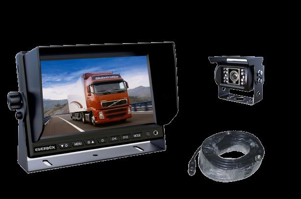 Kit caméra de recul camion
