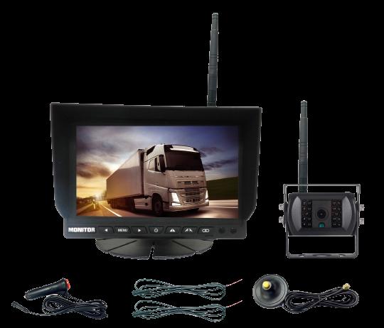 Kit caméra de recul camion sans fil